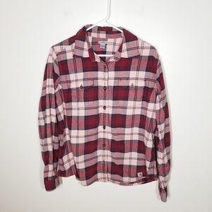 Carhartt | plaid button down shirt